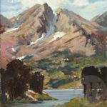 Mountain Range in Utah