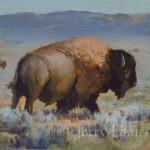 Buffalo III by Jerry Hancock